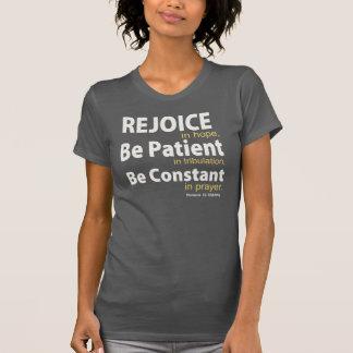 Camiseta EXULTE na ESPERANÇA - 12:12 dos romanos