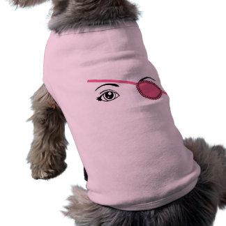 Camiseta Eyepatch cor-de-rosa