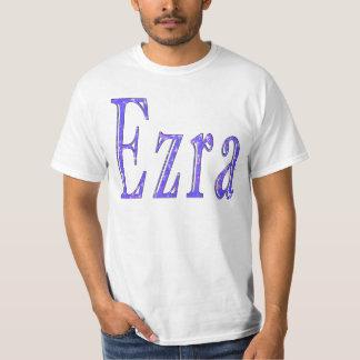 Camiseta Ezra, _Name, _Logo, a T-camisa branca dos _Men
