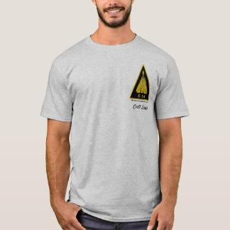 Camiseta F-14 Tomcat - luz colorida
