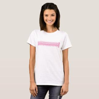 Camiseta F! GHT! T da consciência do cancro da mama