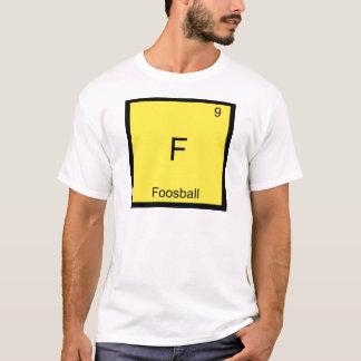 Camiseta F - T engraçado do símbolo do elemento da química