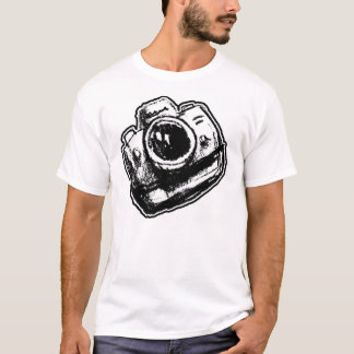Camiseta Fã da câmera