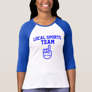 Camiseta Fã local da equipe de esportes #1
