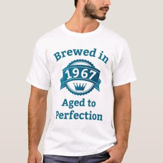Camiseta Fabricado cerveja envelhecido em 1967 à perfeição