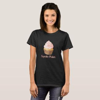 Camiseta Fabricante do cupcake