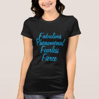 Camiseta Fabuloso e feroz