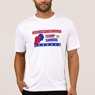 Camiseta Faça a eleição das máquinas de lixar do trunfo de
