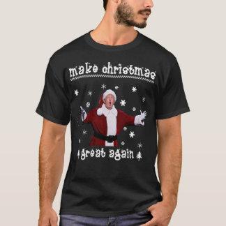 Camiseta Faça a grelha do Natal outra vez