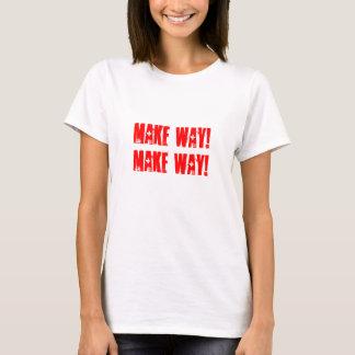 Camiseta Faça a maneira!