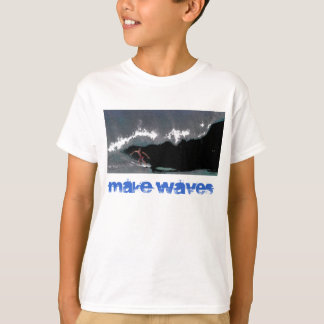 Camiseta Faça a meninos do encanamento das ondas o t-shirt