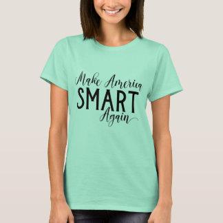 Camiseta Faça a resistência do Anti-Trunfo de América Smart