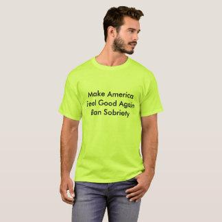 Camiseta Faça a sensação de América boa outra vez