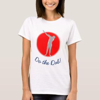 Camiseta Faça a solha! T-shirt com contexto vermelho