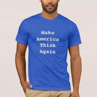 Camiseta Faça América pensar outra vez