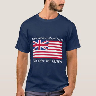Camiseta Faça América real outra vez