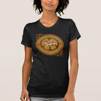 Camiseta Faça guerras de Smores não