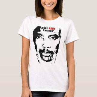 Camiseta Faça Kony famoso!