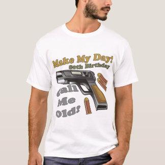 Camiseta Faça meus presentes de aniversário do 80 do dia