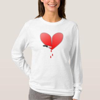 Camiseta Faca no coração