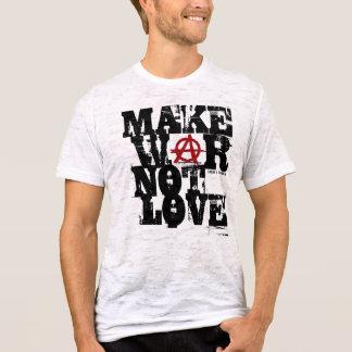 Camiseta Faça o amor da guerra não