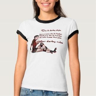 Camiseta Faça-o estilo de derby