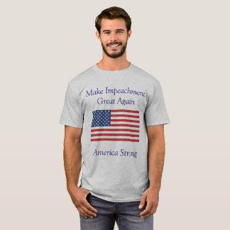 Camiseta Faça o excelente da destituição outra vez