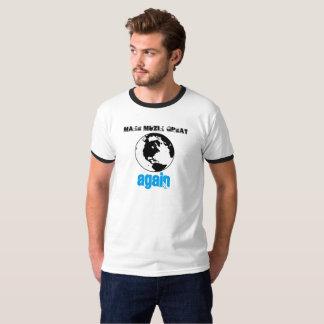 Camiseta Faça o excelente de MuZiK outra vez com mundo