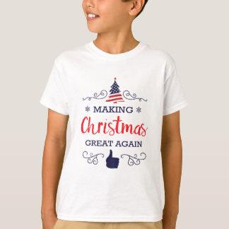 Camiseta Faça o excelente do Natal outra vez
