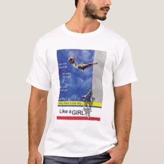 Camiseta Faça-o gostam de um cheerleader