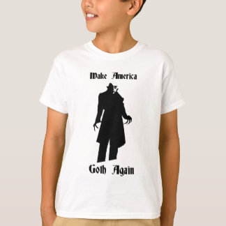 Camiseta faça o gótico de América outra vez