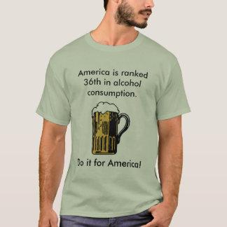 Camiseta Faça-o para América!