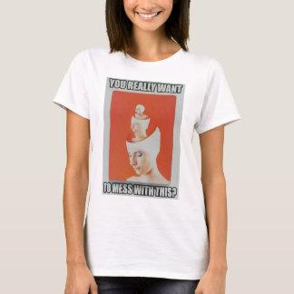 Camiseta Faça-o realmente….