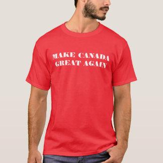 Camiseta Faça o t-shirt do excelente de Canadá outra vez -