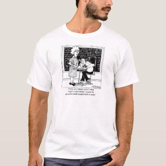Camiseta Faça os impostos do professor para o crédito extra