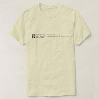 Camiseta Faça para acreditar