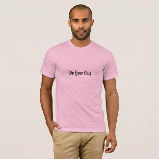 Camiseta Faça seu melhor