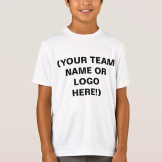 Camiseta Faça seus próprios jérseis de equipe dos esportes