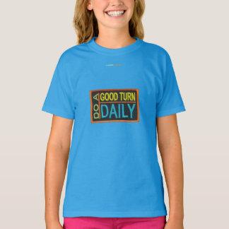 Camiseta Faça um diário da boa volta