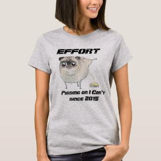 Camiseta Faça um esforço