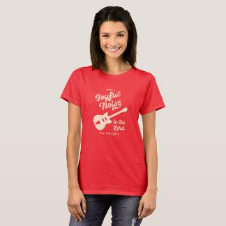 Camiseta Faça um t-shirt alegre do ruído