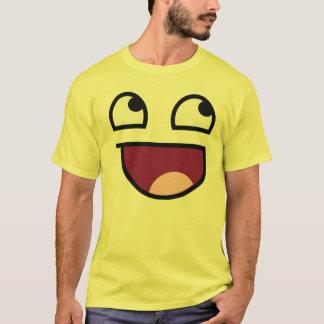 Camiseta Faceshirt impressionante