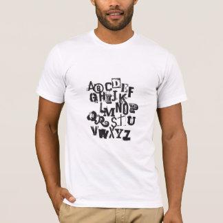 Camiseta fácil como o ABC