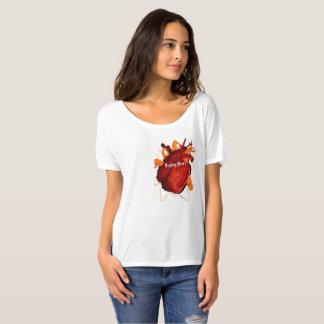Camiseta Fácil vestir a parte superior ocasional