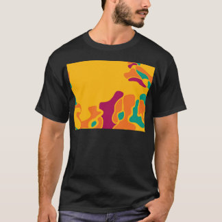 Camiseta Faculdade criadora colorida