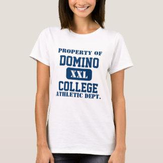 Camiseta Faculdade do dominó