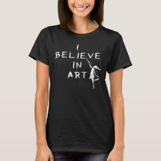 Camiseta Fada da arte: Eu acredito na obscuridade da arte