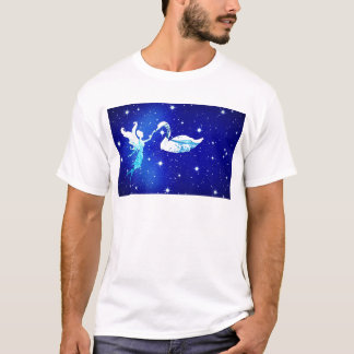 Camiseta fada e a cisne