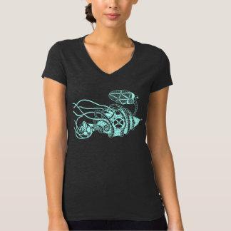 Camiseta Fago de Steampunk contra as bactérias