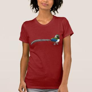 Camiseta Faisão da senhora Amherst